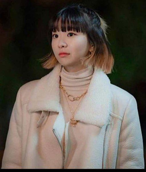itaewon-class-kim-da-mi-shearling-jacket