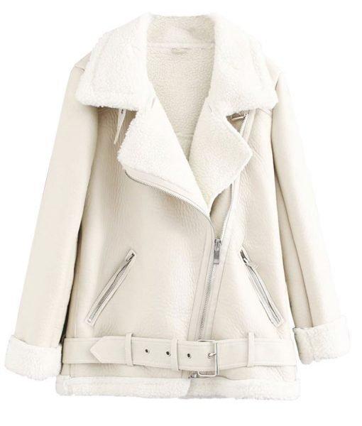 jo-yi-seo-white-leather-jacket