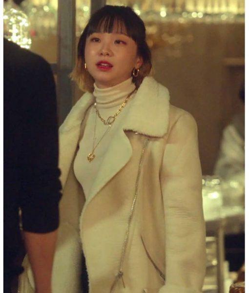 kim-da-mi-leather-jacket