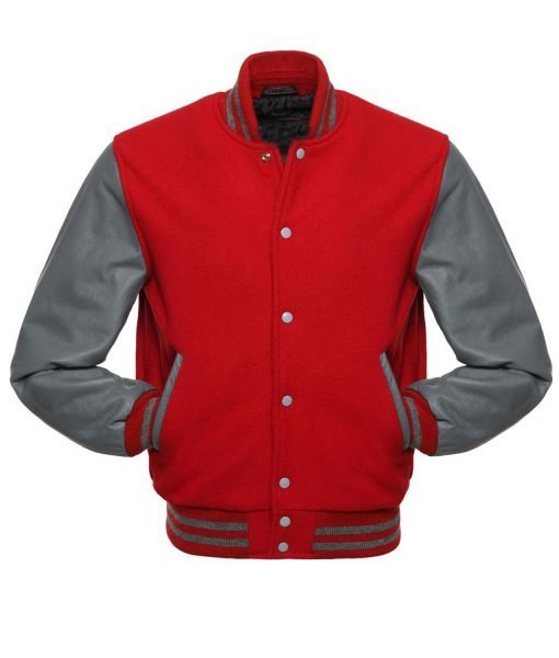 mens-red-and-grey-bomber-jacket