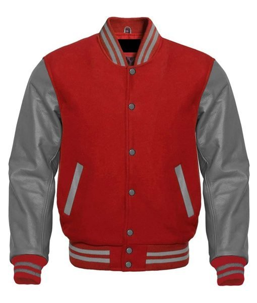 mens-red-and-grey-varsity-jacket