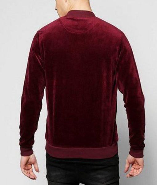 mens-velvet-burgundy-jacket