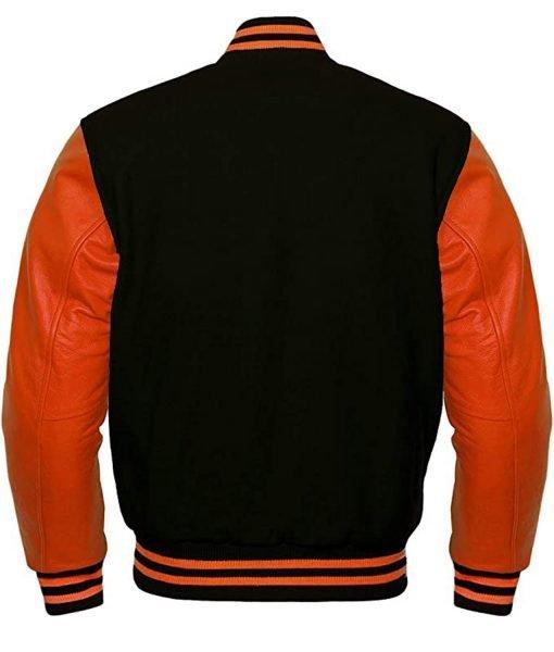 orange-and-black-varsity-jacket
