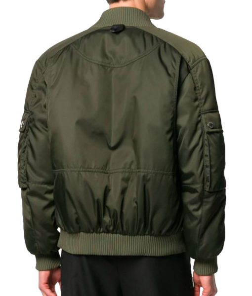 park-seo-joon-green-bomber-jacket