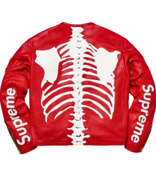 skeleton-red-leather-jacket