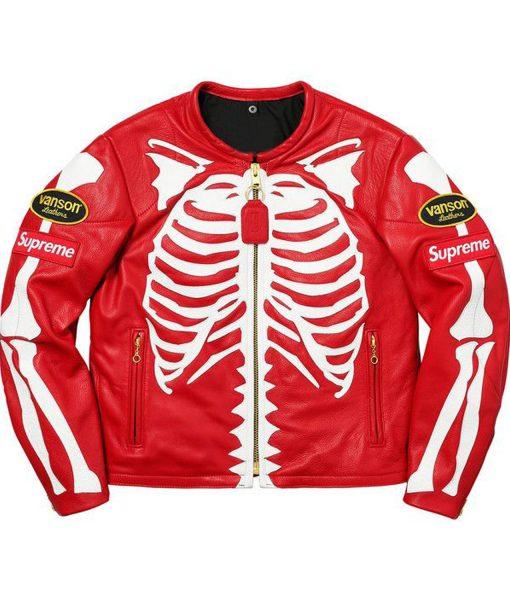 supreme-red-skeleton-jacket