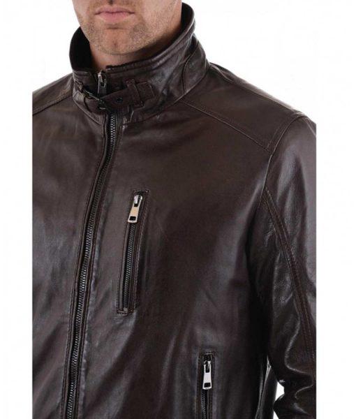 casual-dark-brown-leather-jacket