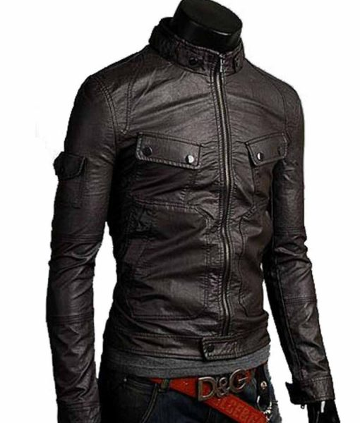 antique-black-leather-jacket