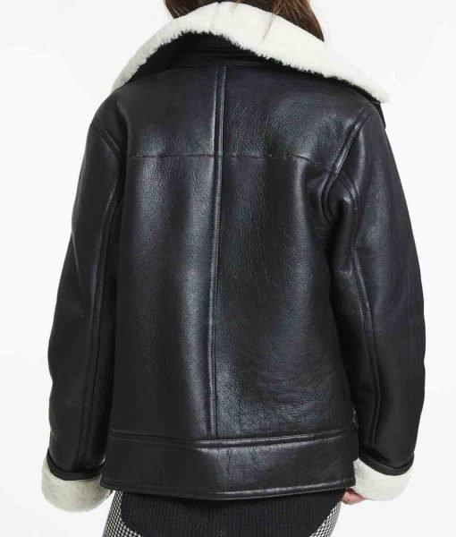 belted-black-shearling-jacket