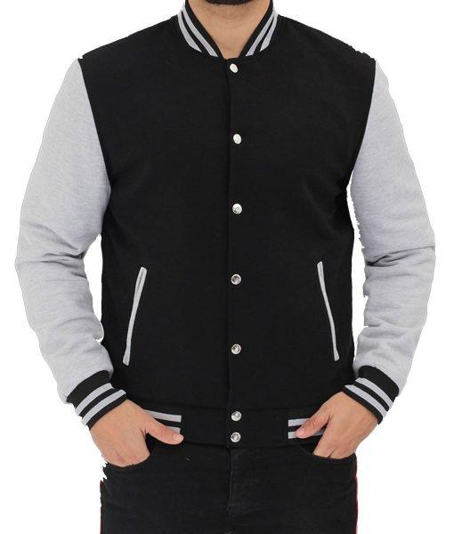 black-and-gray-varsity-jacket