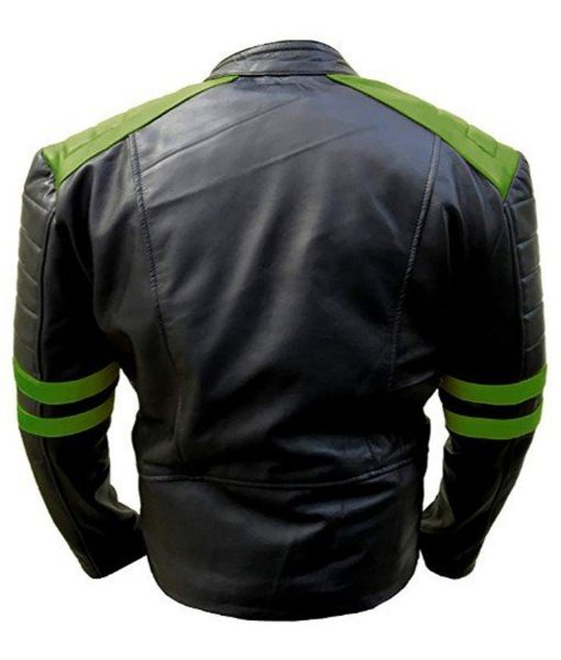 black-and-green-leather-jacket