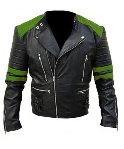 black-and-green-leather-motorcycle-jacket