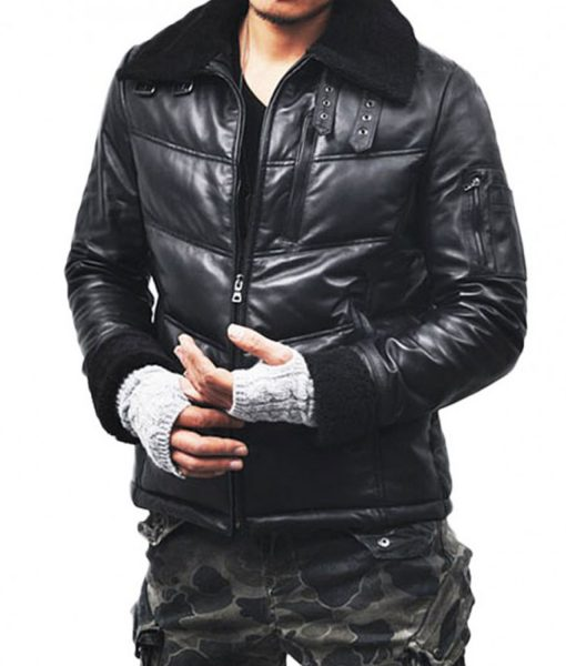black-leather-jacket-with-fur