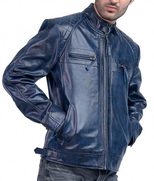blue-cafe-racer-leather-jacket