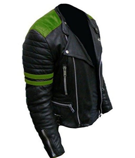 brando-black-and-green-leather-jacket