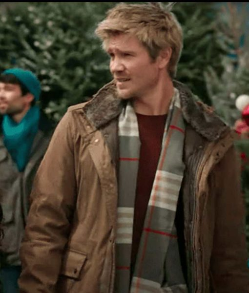 chad-michael-murray-too-close-for-christmas-brown-jacket