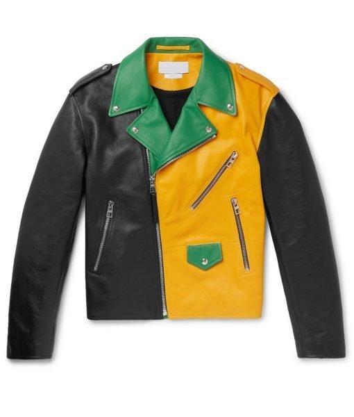 color-block-leather-jacket