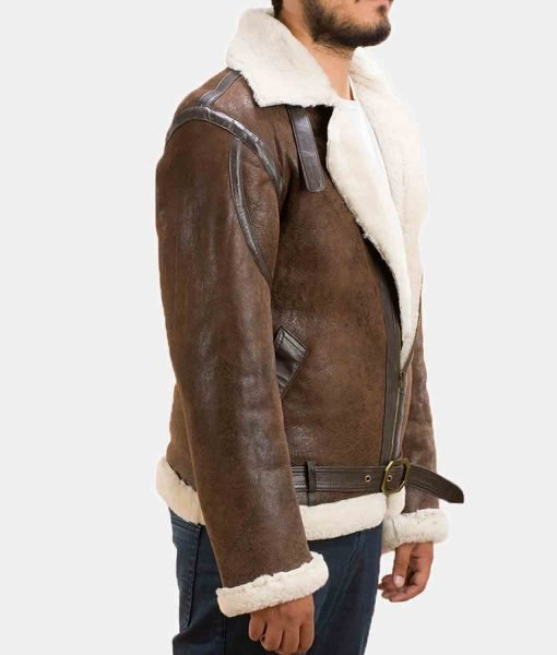 distressed-shearling-jacket