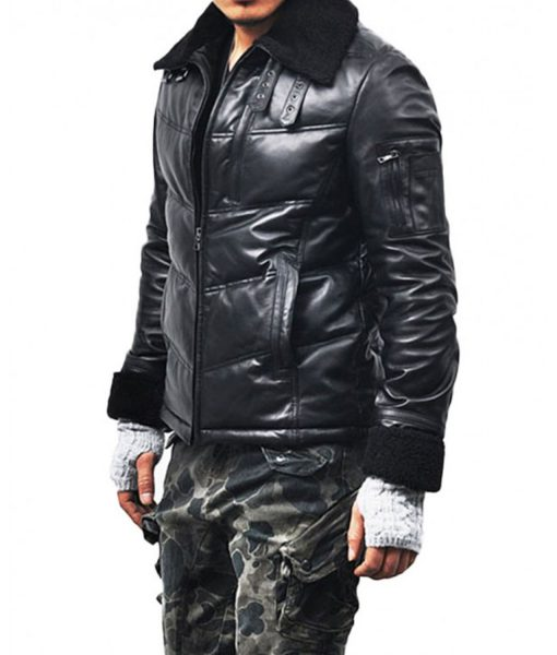 down-leather-jacket