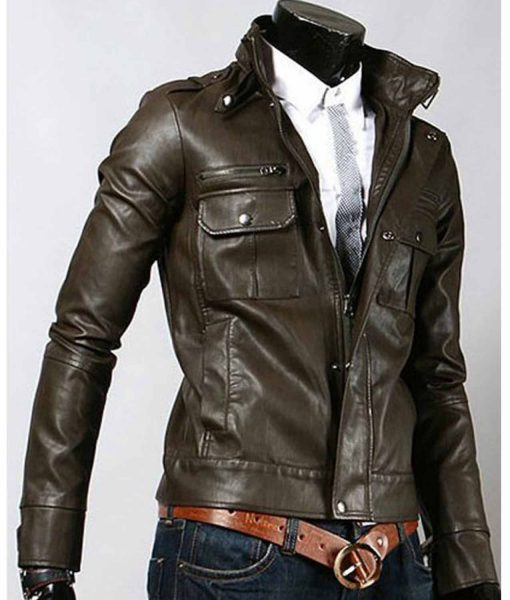elegant-brown-leather-jacket