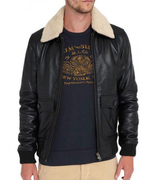 fur-collar-black-jacket