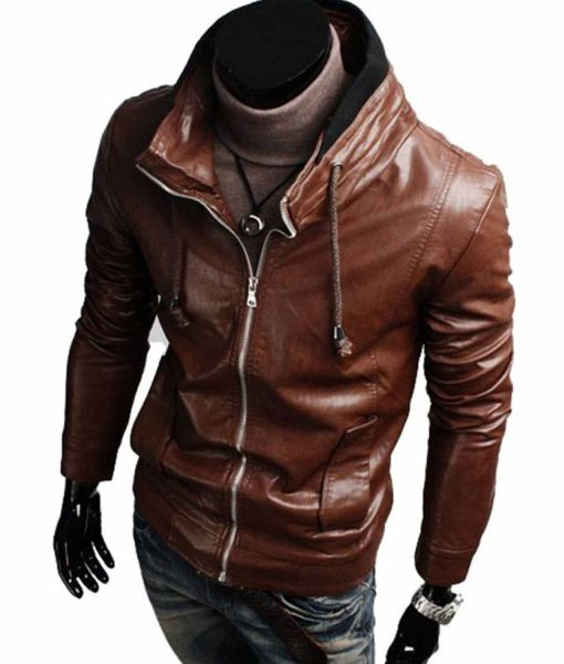 high-neck-brown-leather-jacket