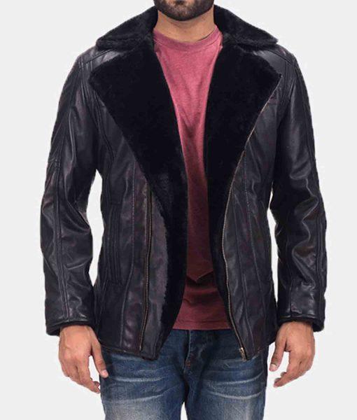 mens-asymmetrical-black-leather-jacket