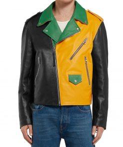 mens-biker-color-block-leather-jacket