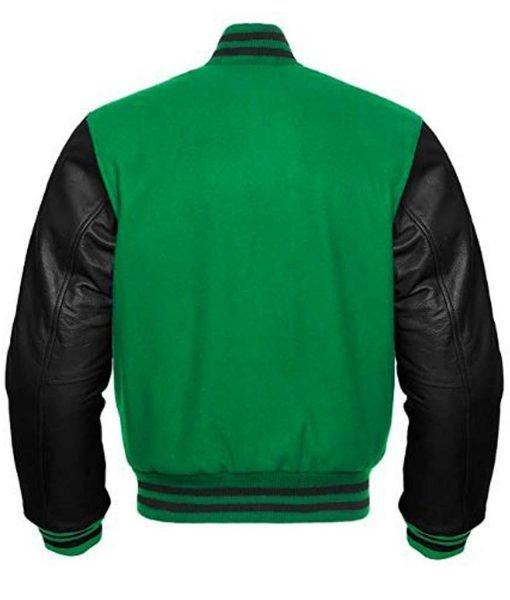 mens-black-and-green-varsity-jacket