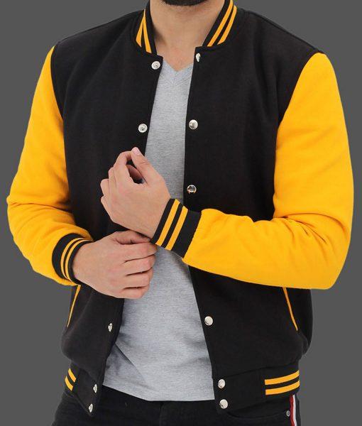 mens-black-and-yellow-jacket