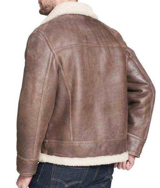 mens-brown-shearling-jacket