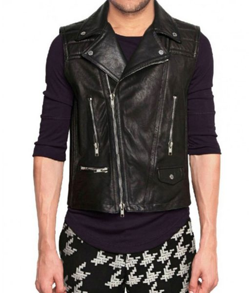 motorcycle-leather-vest