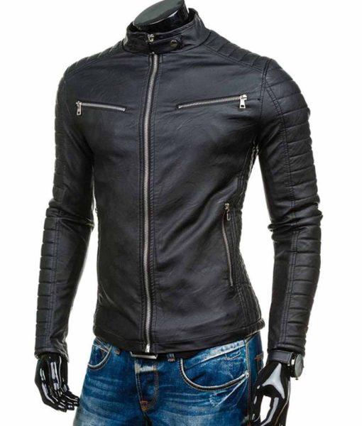 padded-sleeves-leather-jacket