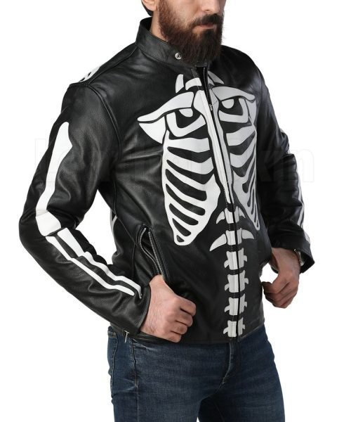 skeleton-leather-jacket