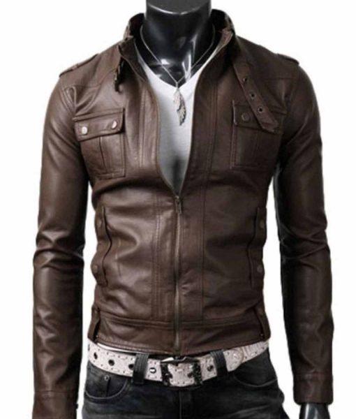 slim-fit-light-brown-jacket