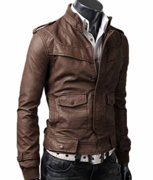 slim-fit-light-leather-jacket