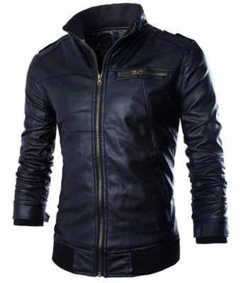 slim-fit-stand-collar-jacket