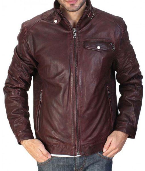 solid-maroon-leather-jacket