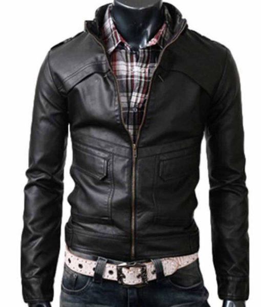 strap-collar-black-leather-jacket
