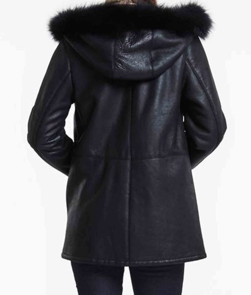 womens-shearling-black-jacket-with-hoodie