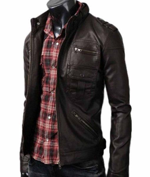 zipper-pocket-leather-jacket