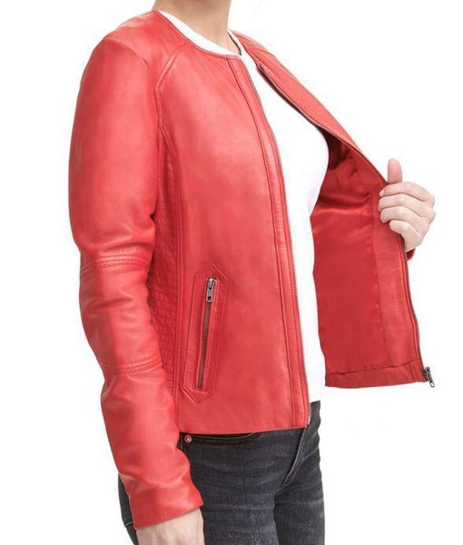 womens-red-leather-jacket