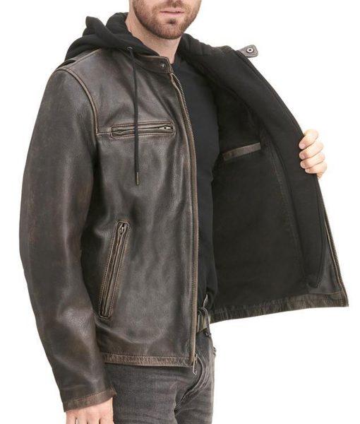 biker-brown-jacket-with-hoodie