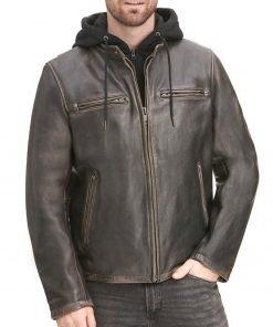 biker-brown-leather-jacket