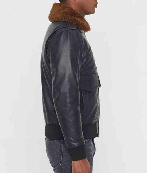 black-bomber-jacket