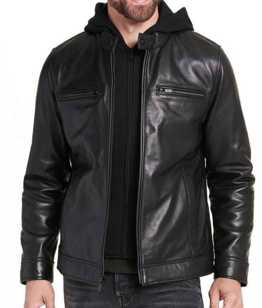 black-leather-jacket-with-hood