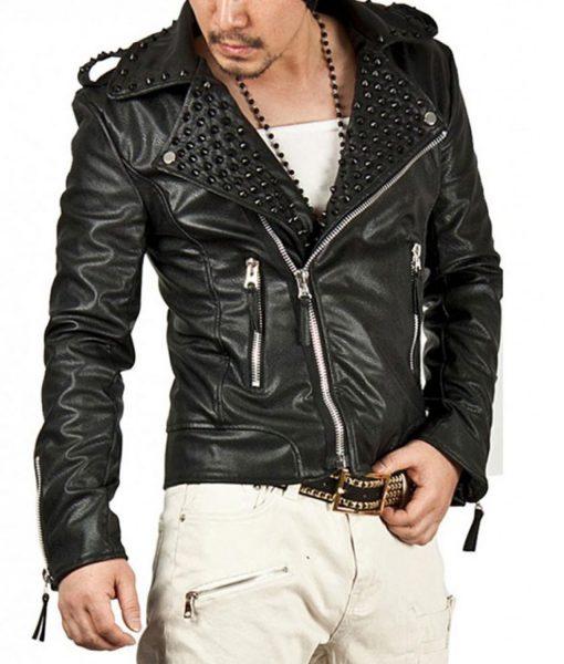 black-studded-leather-jacket