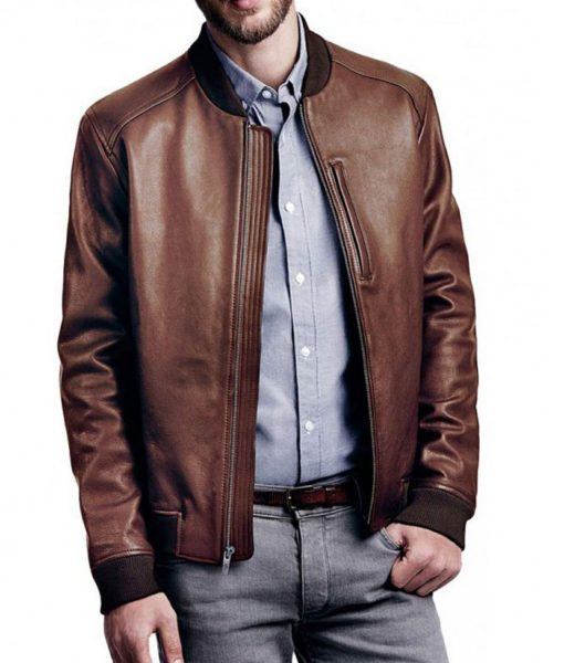 brown-leather-bomber-jacket