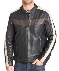 buckled-waist-leather-jacket