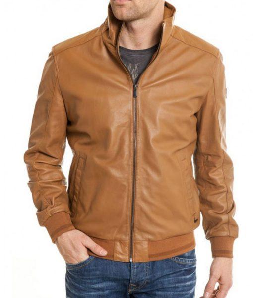 camel-brown-leather-jacket